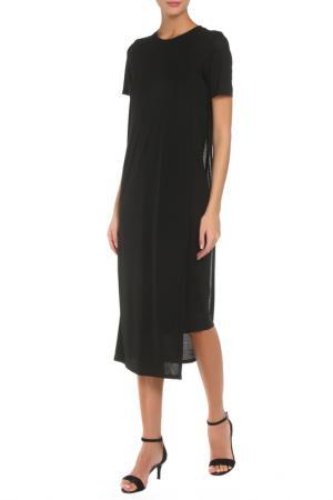 Платье ACNE. Цвет: черный