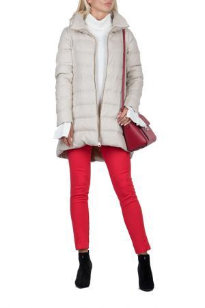 Куртка HERNO. Цвет: бежевый