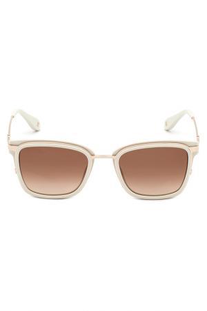 Солнцезащитные очки CAROLINA HERRERA NEW YORK. Цвет: белый
