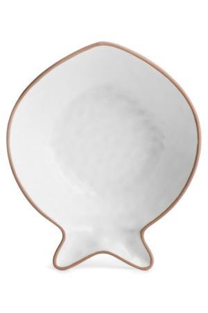 Блюдо сервировочное Sagaform. Цвет: белый