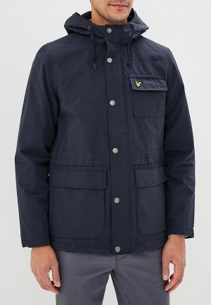 Куртка Lyle & Scott. Цвет: синий