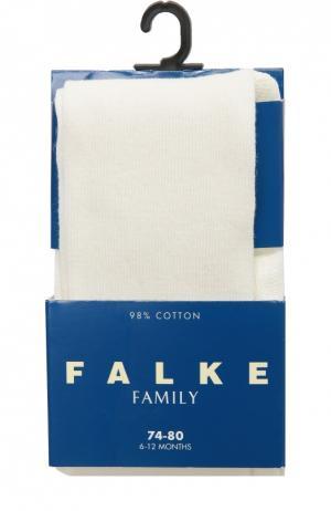 Колготки из хлопка Falke. Цвет: кремовый