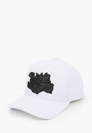 Бейсболка Mitchell & Ness. Цвет: белый