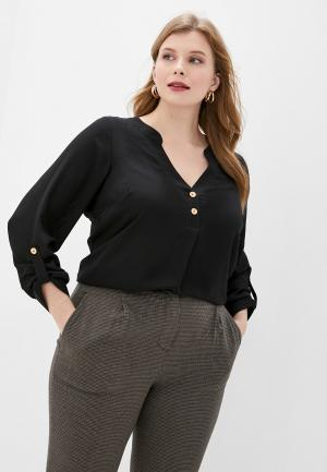 Блуза Dorothy Perkins Curve. Цвет: черный