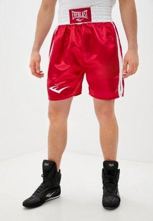 Шорты спортивные Everlast. Цвет: красный