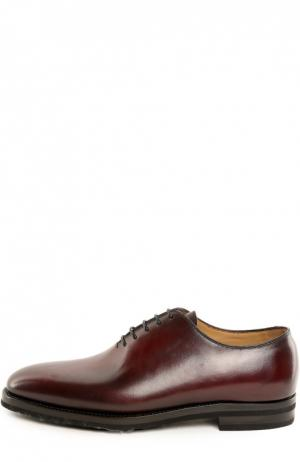 Туфли с колодками Anto Kiton. Цвет: бордовый