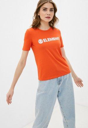 Футболка Element. Цвет: оранжевый