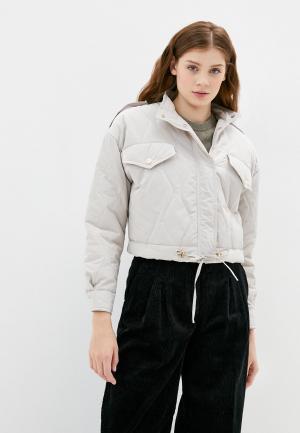 Куртка утепленная Imperial. Цвет: бежевый