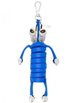 Подвеска на сумку Fendi. Цвет: синий
