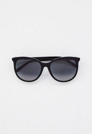 Очки солнцезащитные Jimmy Choo. Цвет: черный