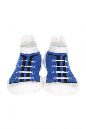 Носочки-ботиночки Ggomoosin. Цвет: синий