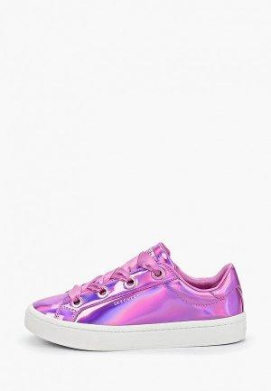 Кеды Skechers. Цвет: фиолетовый