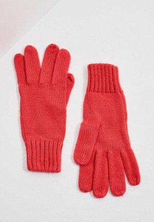 Перчатки Bimba Y Lola. Цвет: коралловый