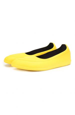 Галоши Swims. Цвет: желтый