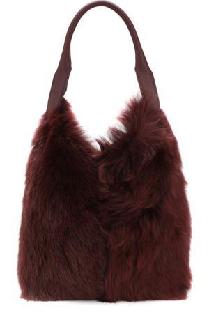 Сумка Build a Bag large Anya Hindmarch. Цвет: бордовый
