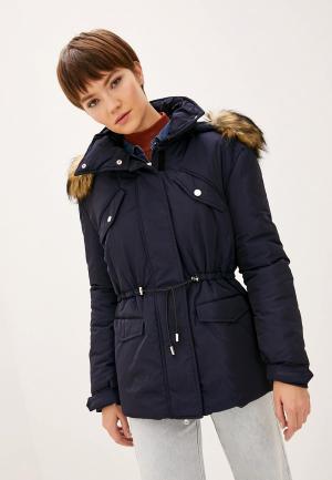 Куртка утепленная Patrizia Pepe. Цвет: синий