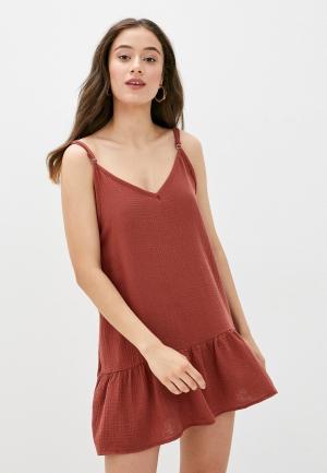 Платье пляжное Cotton On. Цвет: хаки