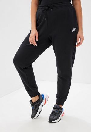 Брюки спортивные Nike. Цвет: черный
