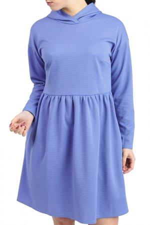 Платье LACY. Цвет: голубой