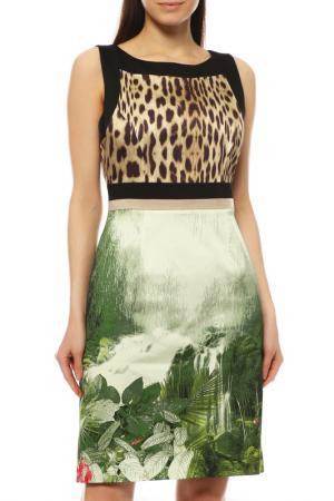 Платье ANGELO MARANI. Цвет: цветной