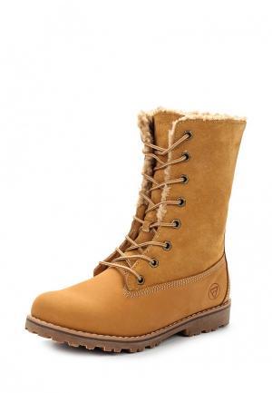 Ботинки Reflex. Цвет: коричневый