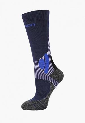 Носки Salomon. Цвет: синий