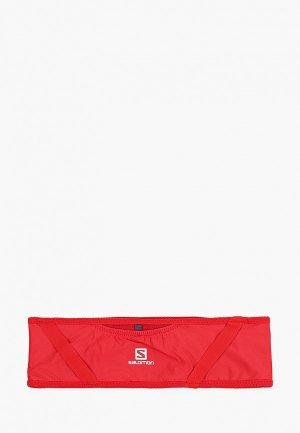 Пояс для бега Salomon. Цвет: красный