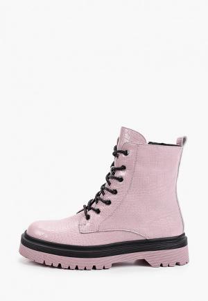 Ботинки Covani. Цвет: розовый