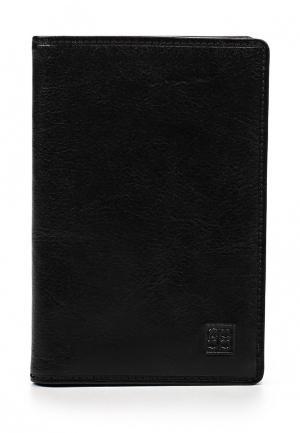 Обложка для документов Sergio Belotti. Цвет: черный