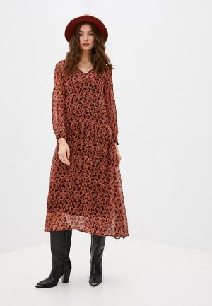 Платье Max&Co. Цвет: оранжевый