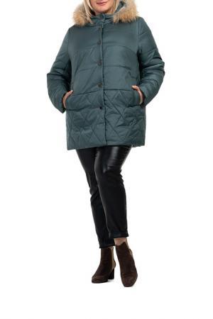 Куртка MODRESS. Цвет: зеленый