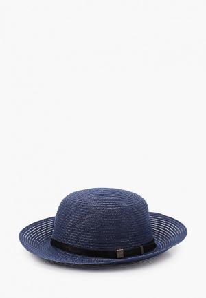 Шляпа Fabretti. Цвет: синий