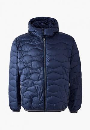 Куртка утепленная North 56-4. Цвет: синий