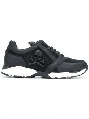 In My Mind Runner sneakers Philipp Plein. Цвет: чёрный