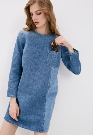 Платье джинсовое Closed. Цвет: голубой