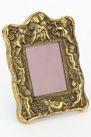 Рамка для фото Ангелы Stilars. Цвет: золотой