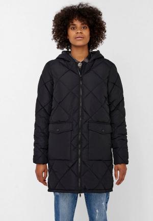 Куртка утепленная Noisy May. Цвет: черный