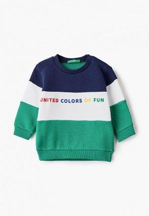 Свитшот United Colors of Benetton. Цвет: разноцветный