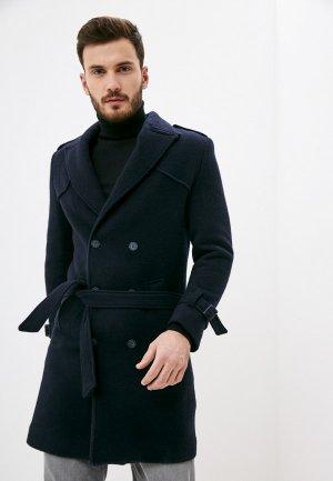 Пальто Paul Martins Martin's. Цвет: синий