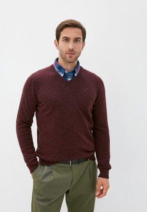 Пуловер Barbour. Цвет: бордовый