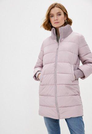 Куртка утепленная Zolla. Цвет: розовый