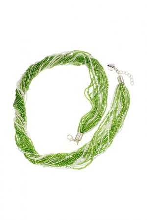 Ожерелье ZECCHIN VENICE. Цвет: зеленый
