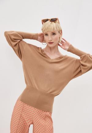 Пуловер Elisabetta Franchi. Цвет: бежевый