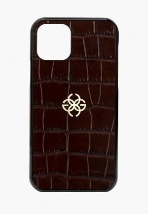 Чехол для iPhone Golden Concept. Цвет: коричневый