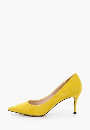 Туфли El Tempo. Цвет: желтый