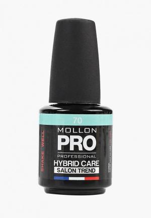 Гель-лак для ногтей Mollon Pro. Цвет: бирюзовый
