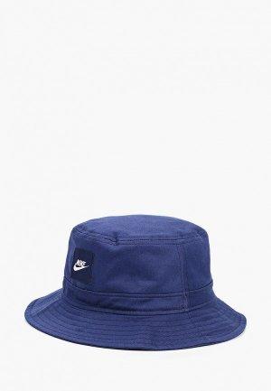 Панама Nike. Цвет: синий