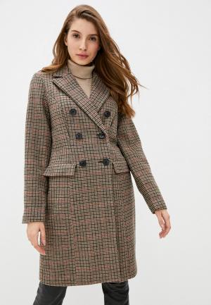 Пальто Vero Moda. Цвет: бежевый