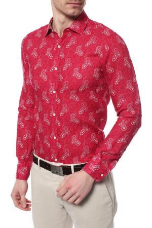 Рубашка MARINA YACHTING. Цвет: красный