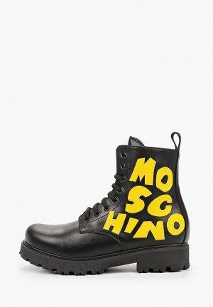 Ботинки Moschino. Цвет: черный